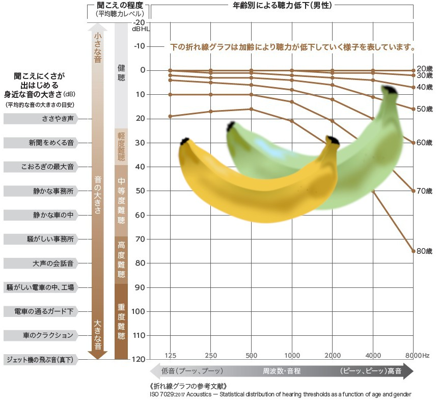 成城補聴器 スピーチバナナ 日本語 英語
