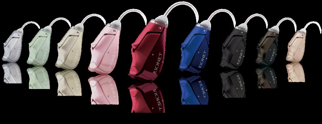 リオネット補聴器 HB-A3 色見本 カラーサンプル 成城補聴器