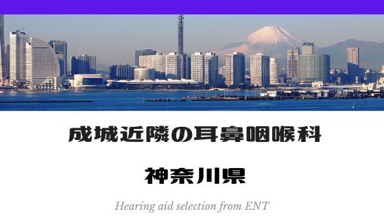 成城近隣の耳鼻咽喉科 神奈川県